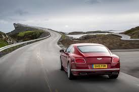 bentley sport 2016 bentley continental gt review 2015 first drive