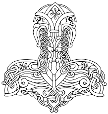 simple norse tattoo simple hammer drawing at getdrawings com free for personal use