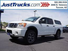 nissan titan king cab for sale nissan titan crew cab pro 4x pickup in arizona for sale used
