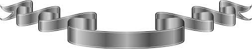 gray ribbon clipart ribbon silver