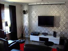 wallpapers for home interiors lovely wallpaper home interiors ideas wallpaper living room ideas