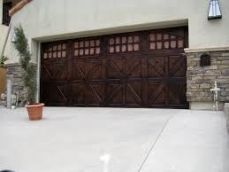 Wallpaper That Looks Like Wood by Faux Wood Painted Garage Doors