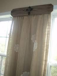 doilies on burlap what a great idea for unique drapery home