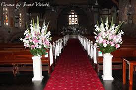 church flower arrangements flower arrangement for wedding at church church wedding
