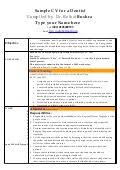 Dentist Resume Sample India by Resume Cv Of Periodontist