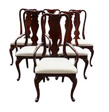 sumter cabinet company queen anne style dining room chairs ebth