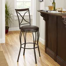 Adjustable Bar Stools Cameron Adjustable Height Barstool With Dark Bronze Swivel Seat