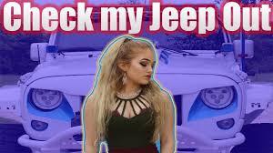 badass blue jeep badass jeep walk around youtube