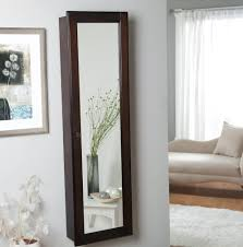 Mirror Jewelry Armoire Target Wall Mount Jewelry Armoire Mirror Home Design Ideas