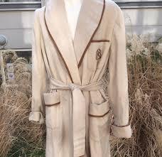 robe de chambre homme cachemire hermes robe de chambre d homme et sa ceinture en cachemire mastic