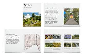 new york botanical garden identity system on behance