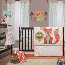 Nursery Bedding For Girls by Clever Fox Bedding For Boys And Girls Forest Animal Crib Bedding