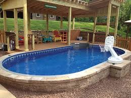 semi inground pools u2014 brothers 3 pools