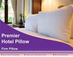 premier hotel pillow firm