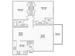 1 3 bed apartments township square