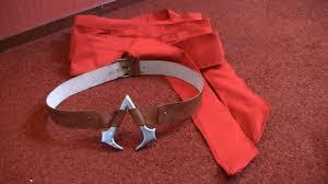 Red Sash Connor Costume Ac3 Red Sash U0026 Belt Tutorial Youtube