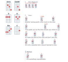 ukulele tutorial get lucky ukegeeks ukulele song editor chord diagramming javascript library