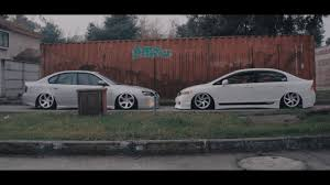 subaru legacy wagon stance short film air low subaru legacy u0026 honda civic stance
