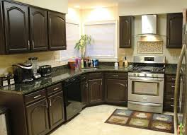 ideas for refinishing kitchen cabinets brown painted kitchen cabinets ideas painted kitchen cabinets