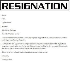 sample resignation letter template 2 hitecauto us