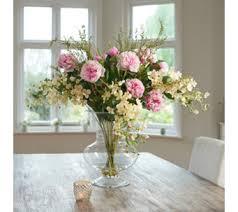 Artificial Lilies In Vase Peony U2014 Home U0026 Kitchen Qvc Uk