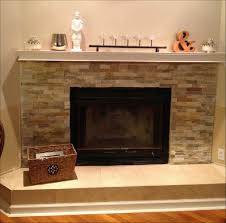 interiors amazing how to clean fireplace stone white stacked