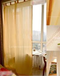 made japanese style curtains and beige artificial fiber linen