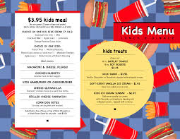 lunch menu template free free school lunch menu templates 3 best and various templates