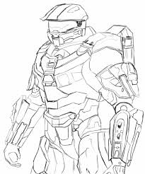 master chief coloring pages murderthestout