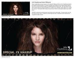 special fx makeup casablancas outdoor advert by special fx makeup