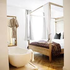 open bedroom bathroom design 17 open living spaces that blur the