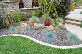 creative of rock garden design and construction succulent rock