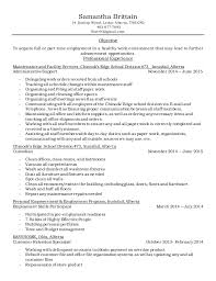Warehouse Clerk Resume Sample by Samantha Brittain Resume 2015 Shipping And Receiving