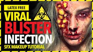 rigid collodion spirit halloween viral infection sfx zombie undead madeyewlookbrushes