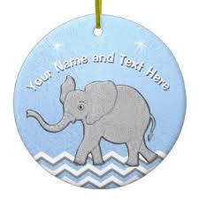 baby elephant christmas tree decorations u0026 ornaments zazzle com au