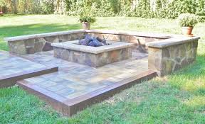 Firepit Design Circular Patio Designs Back Yard Pit Designs Square Outdoor