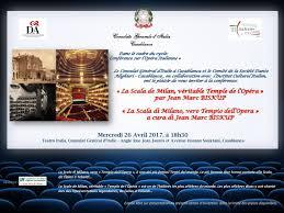 consolato generale d italia a casablanca la scala de milan véritable temple de l opéra par jean marc biskup