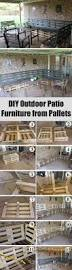 Patio Furniture Pallets by 15 Best Diy Outdoor Pallet Furniture Ideas Homelovr