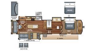 Jayco 5th Wheel Rv Floor Plans by 2018 Jayco North Point 381dlqs Model
