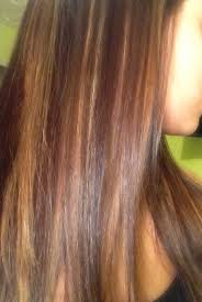 dark brown with blonde and caramel highlights hairstyle picture magz
