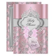 pink and silver baby shower pink pink and silver baby shower baby shower invitations pink