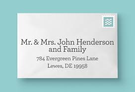 how to address wedding invitations to a family how to address your wedding invitations