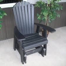 Glider Chair Walmart A U0026amp L Furniture Adirondack Poly Recycled Plastic 2 Ft Glider
