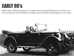 history of cars history of car paints