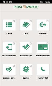 intesa banking italy s largest bank intesa sanpaolo release a windows phone app