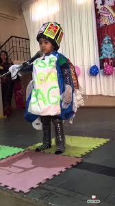 fancy dress competition best out of waste by sidh solanki at