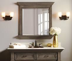 Framing Bathroom Mirror With Molding Crown Molding Bathroom Mirror Image Bathroom 2017