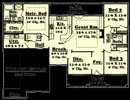 colonial style homes floor plans 1700 square foot house plans unique colonial style house plan 3