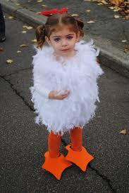 Halloween Chicken Costume Sasters Child U0027s Chicken Costume Diy