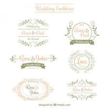 wedding backdrop vector free emblemas do casamento ornamentais logos wedding logos and wedding